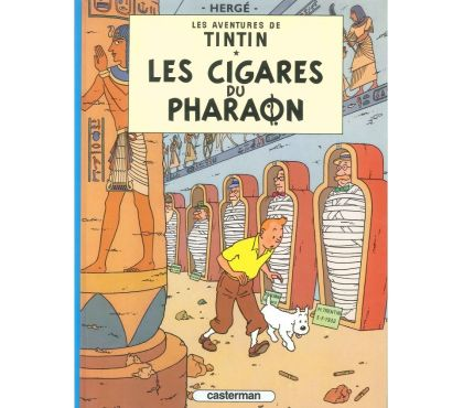 Photos Vivastreet Tintin et Milou – Les cigares du pharaon T03 RE