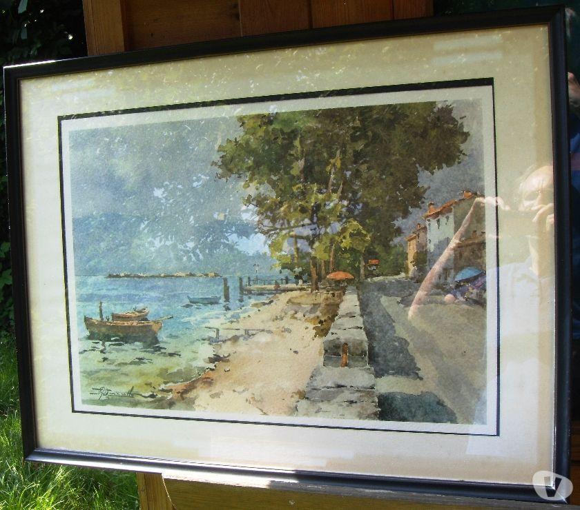 Photos Vivastreet Aquarelle encadrée, vue de Saint-Tropez