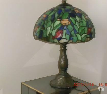 Photos Vivastreet Lampe Tiffany pied en bronze