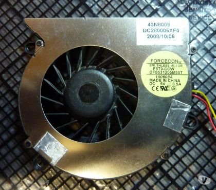 Photos Vivastreet IBM Lenovo G530 Series CPU Fan Cooling DC280005XF0 43N8009