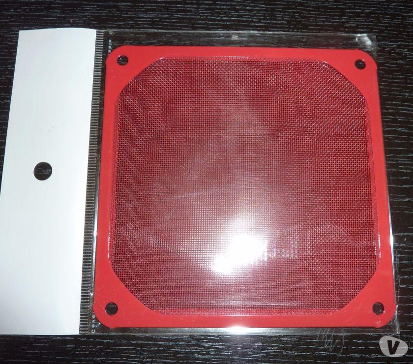 Photos Vivastreet Grille filtre 12 cm métal Rouge