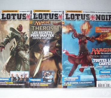 Photos Vivastreet Magazines Lotus Noir en français