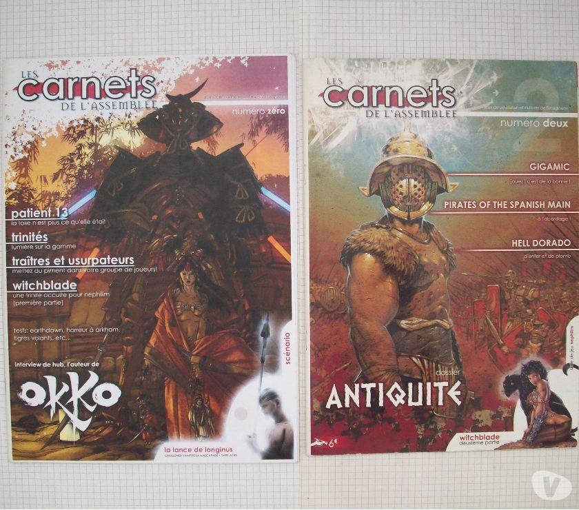 Photos Vivastreet Magazines de jdr Les carnets de l'assemblée