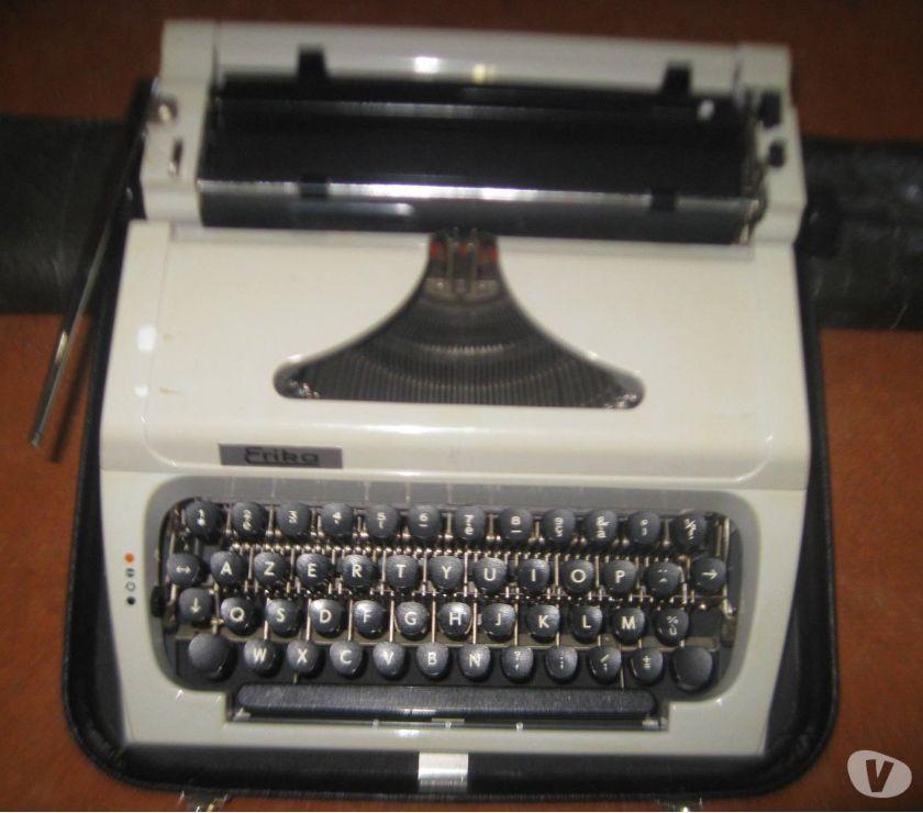 Photos Vivastreet machine a écrire portable Erika rabatren