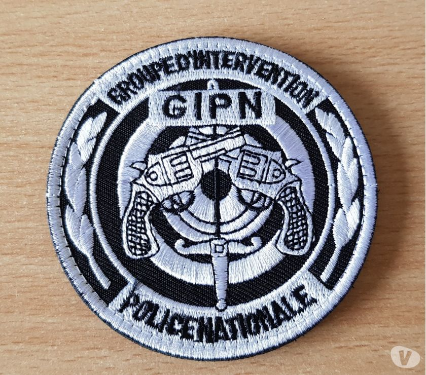 Photos Vivastreet ecusson brodé gipn groupe d'intervention police nationale