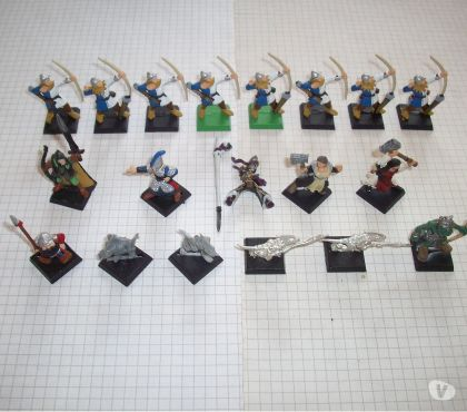Photos Vivastreet Lot mixte de figurines Citadel pour Warhammer - Mordheim