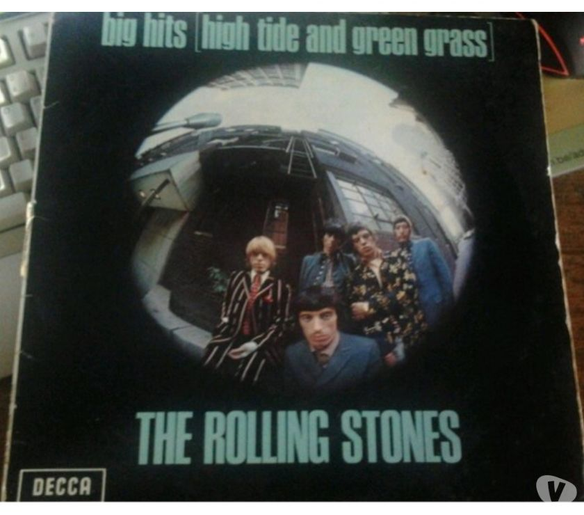 Collections Viroinval - 5670 - Photos Vivastreet The rolling stones - Big hits [ high tide and green grass ]