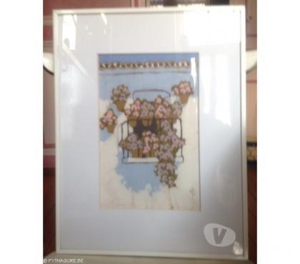 Photos Vivastreet peinture sur toile sous verre 36cm x 46cm