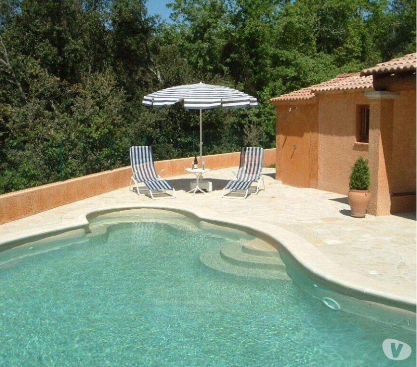 Location de vacances france gard proche ard che maison - Locations vacances avec piscine privee ...