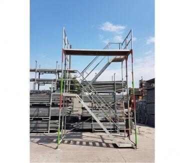 Photos Vivastreet Tour d'escaliers d'occasion 8m Layher facadier