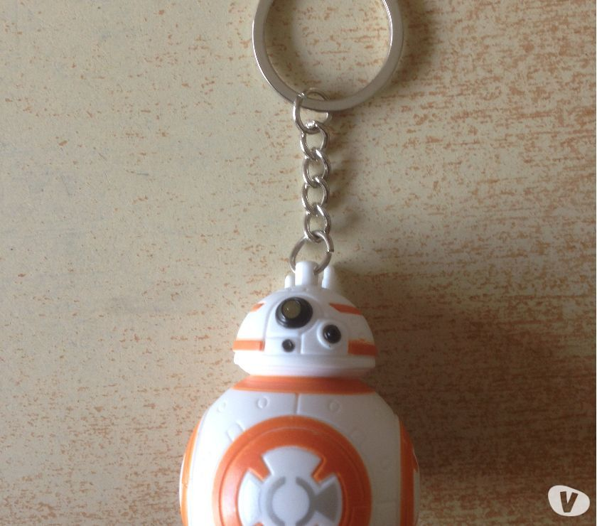 Photos Vivastreet porte clé star wars robot bb-8 avec led