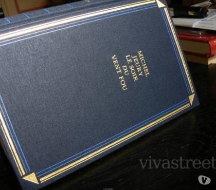 Photos Vivastreet livre relié Michel Jeury le soir du vent fou