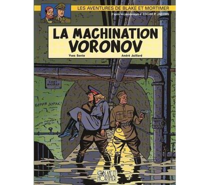 Photos Vivastreet Blake et Mortimer – La Machination Voronov T14 RE de 2003