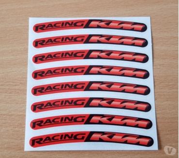 Photos Vivastreet autocollant sticker x 8 ktm racing 10x1 cm