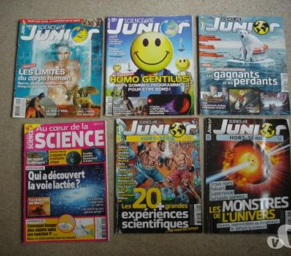 Photos Vivastreet Revues: sciences et vie junior