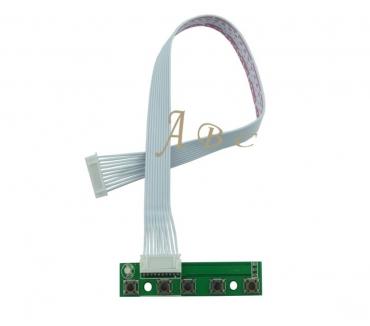 Photos Vivastreet Clavier 5 touches + câble 10 broches pour Carte contrôleur