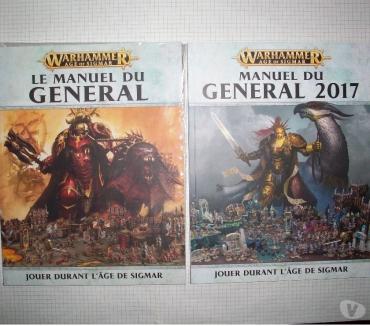Photos Vivastreet Lot de Manuel du général OOP pour Warhammer Age of Sigmar