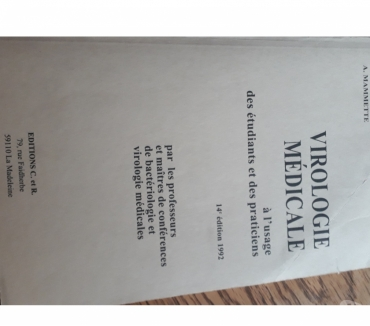 Photos Vivastreet Virologie médicale (Mammette) éd 1992