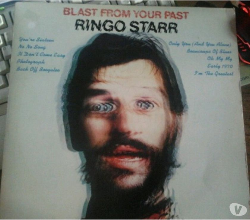 Collections Viroinval - 5670 - Photos Vivastreet Vinyle Ringo Starr - Blast from your past