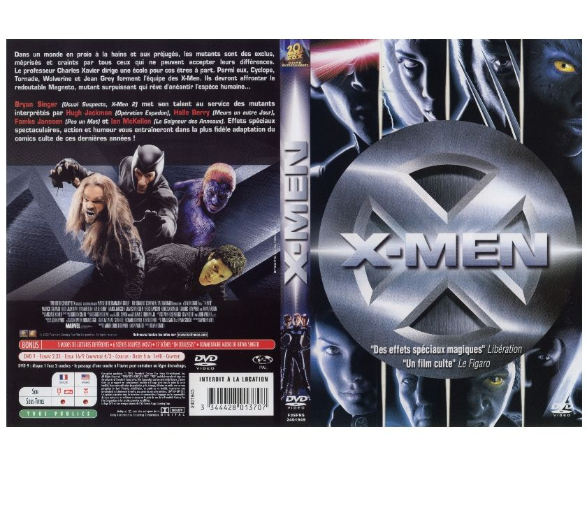 DVD Libramont Chevigny - 6800 - Photos Vivastreet X-men 1