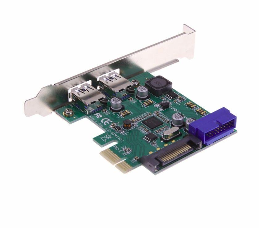 Photos Vivastreet pcie usb 3.0 (usb3 superspeed) - 2 + 2 ports chipset nec