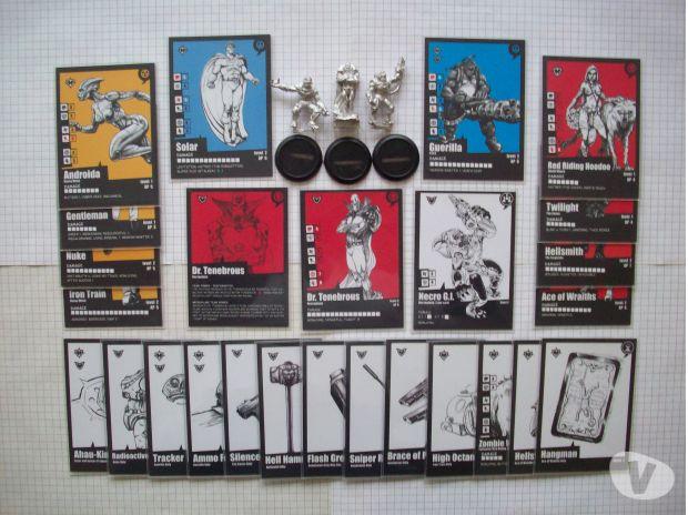 Photos Vivastreet Cartes + Expansion Pack Dr. Tenebrous & Necro G.I. Pulp City