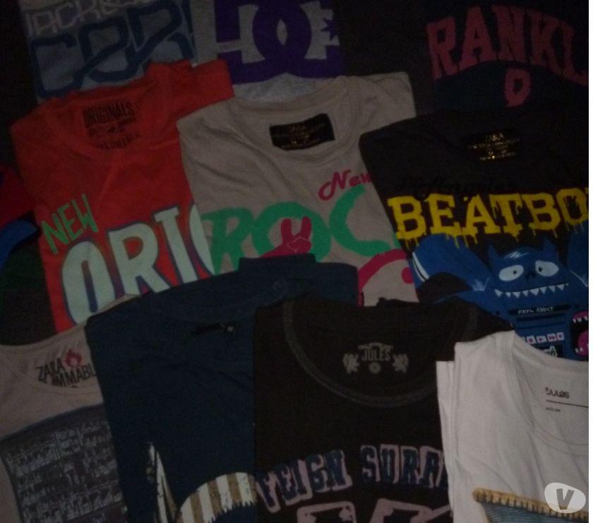 Photos Vivastreet Différents tee shirt de Marque pour homme