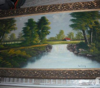 Photos Vivastreet Peinture sur toile 62 X 112