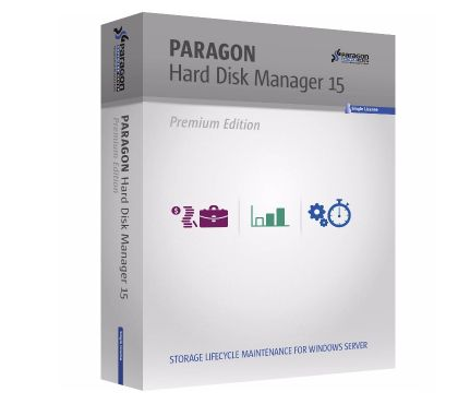 Photos Vivastreet PARAGON Hard Disk Manager 15 Premium pour Windows