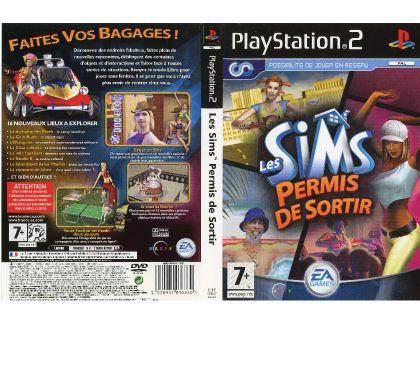 Photos Vivastreet Les Sims Permis de sortir (PS2)