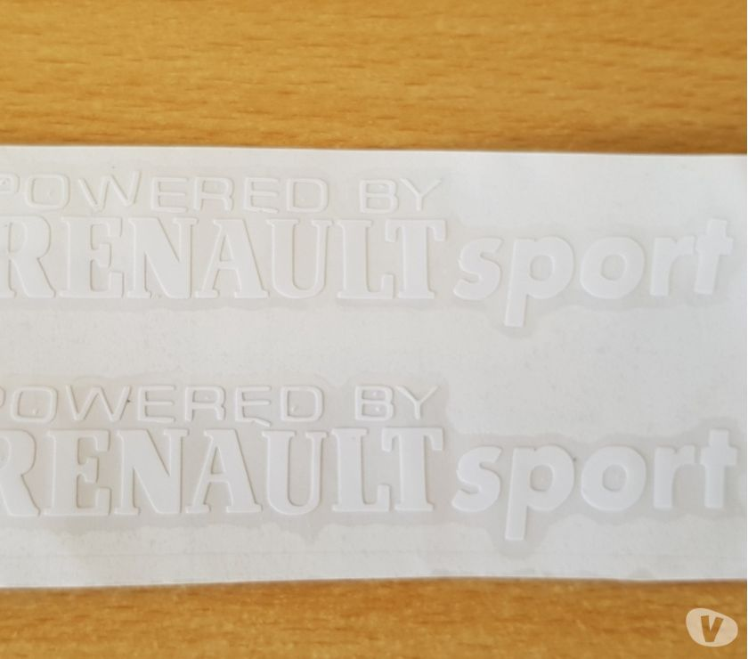 Photos Vivastreet paire d'autocollants Renault sport tout support