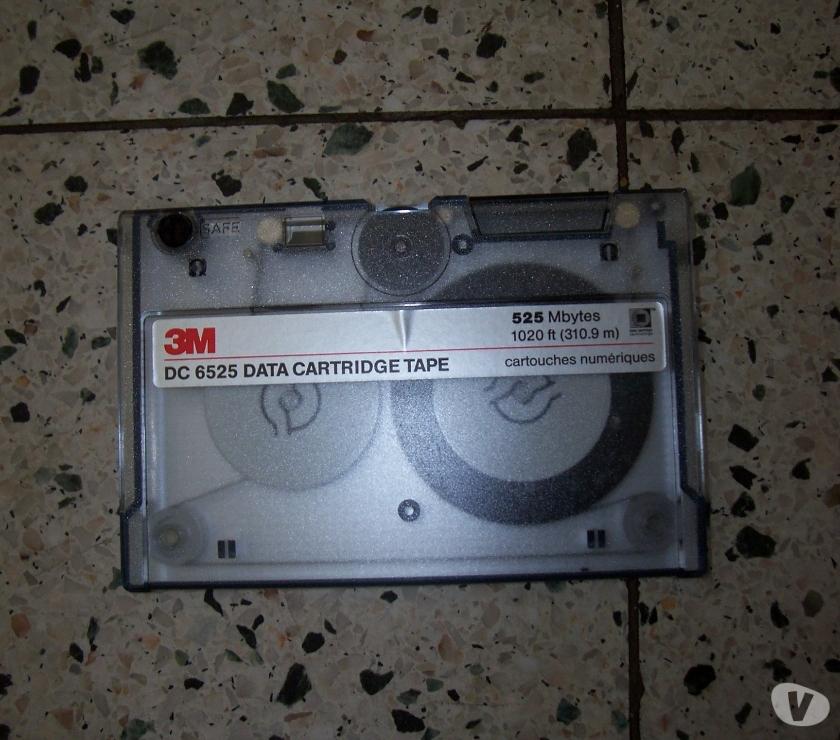 Photos Vivastreet Anciennes Data cartridge Tape 3M (5)et SONY(5) 525Mb.et 120M