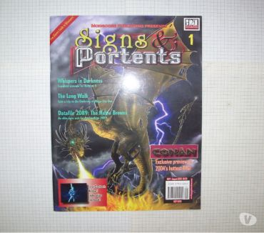 Photos Vivastreet Magazine de jdr-rpg en anglais Signs & Portents