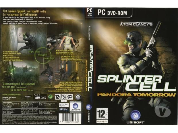 Photos Vivastreet Splinter Cell Pandora Tomorrow (PC DVD)
