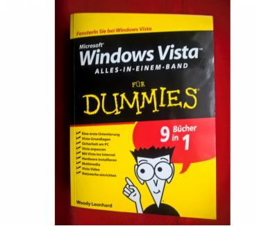 Photos Vivastreet WINDOWS VISTA für DUMMIES von Woody Leonhard