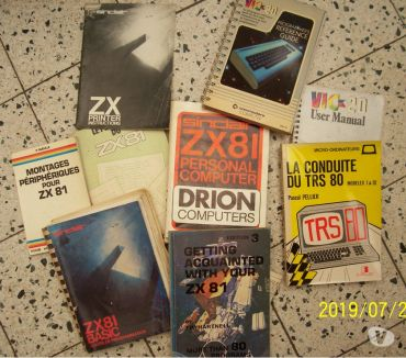 Photos Vivastreet Z X 8 1 OUVRAGES LITTERAIRES ZX81,TRS80,COMMODORE vic20