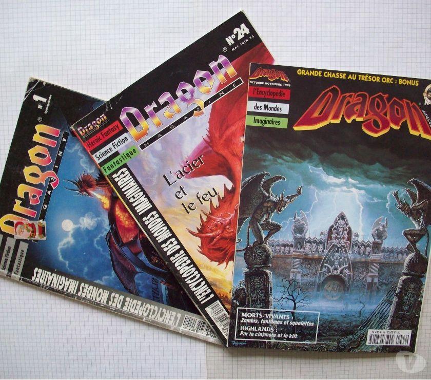 Collections Mouscron Mouscron - 7700 - Photos Vivastreet Lot de Dragon Magazine édition française