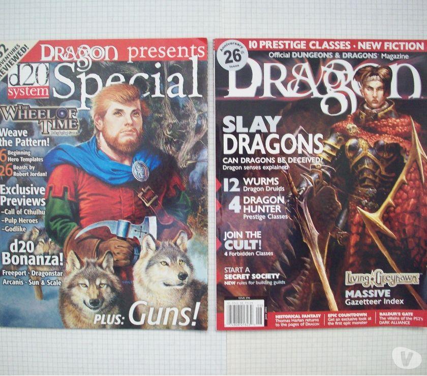 Photos Vivastreet Lot de magazines de jdr Dragon en anglais