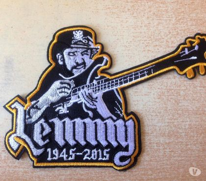 Photos Vivastreet écusson motorhead lemmy tribute heavy metal band
