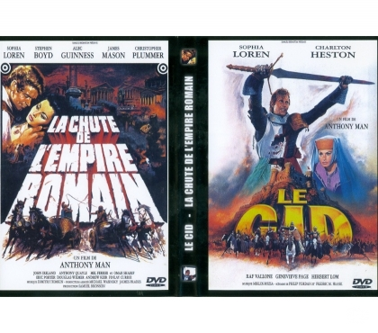 Photos Vivastreet Coffret Anthony Mann : La chute de l'empire romain + El Cid
