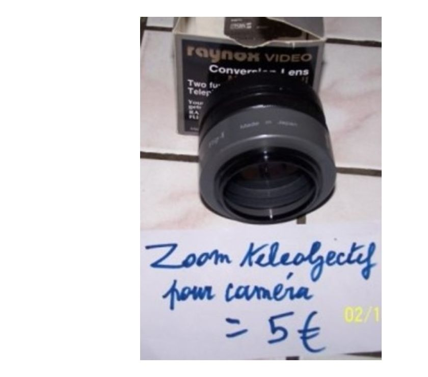 Photos Vivastreet 1 zoom objectif de 1,5 à visser pour caméra Sony ( nouveau )
