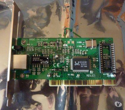 Photos Vivastreet Realtek RTL8139C Carte Ethernet PCIRJ45 10100 Mbps