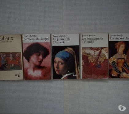 Photos Vivastreet Lot de romans des collections Folio