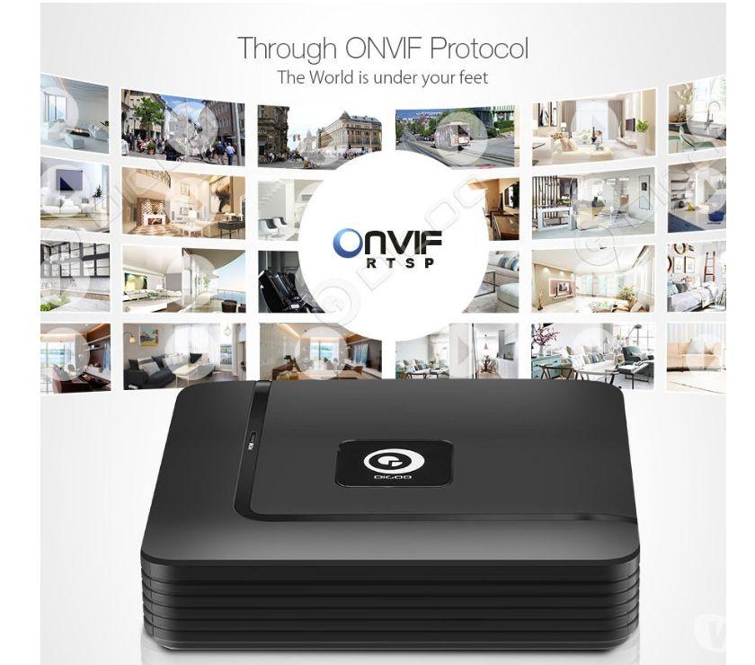 Image & son Libramont Chevigny - 6800 - Photos Vivastreet NVR Enregistreur pour le Système Sécuritaire de Caméra IP