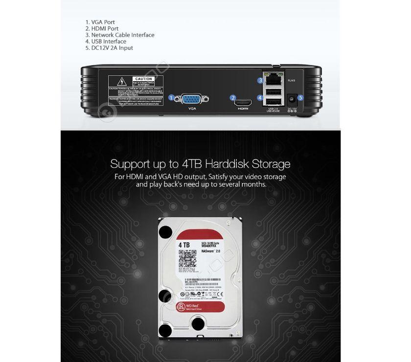 Photos Vivastreet NVR Enregistreur pour le Système Sécuritaire de Caméra IP