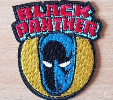 Photos Vivastreet Ecusson brodé black panther super héros Marvel 7,5x6,5 cm