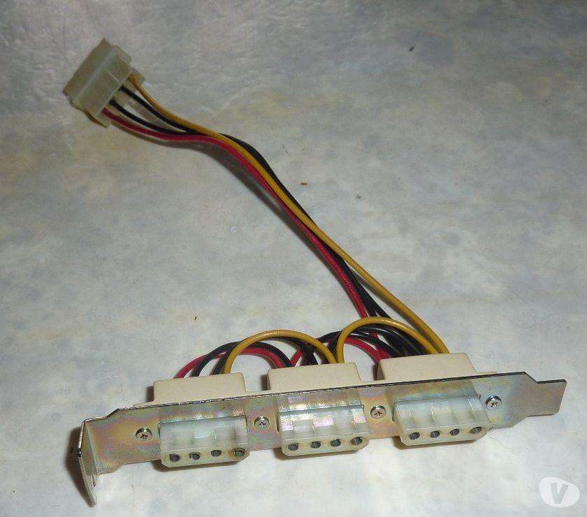 Photos Vivastreet Equerre PC 3x connecteurs Molex externes