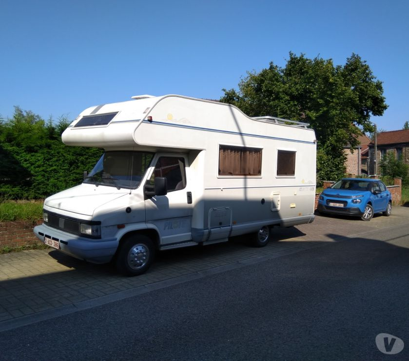 Camping car occasion Gilly Gilly - 6060 - Photos Vivastreet Camping car Fiat Ducato 2.5 D. Année 1993