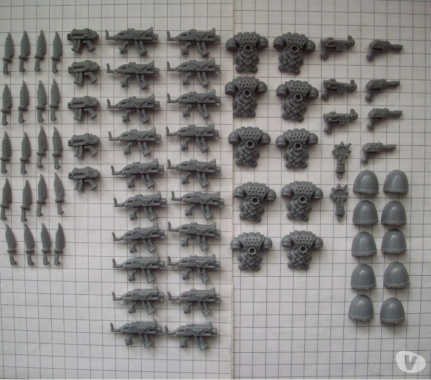 Photos Vivastreet Bitz Space Marines d'infanterie Rogue Trader-V1-V2 W40K