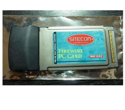 Photos Vivastreet Sitecom Firewire FW-005 IEEE1394 2port PCMCIA